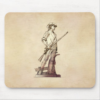 Concord Minuteman Mouse Pad