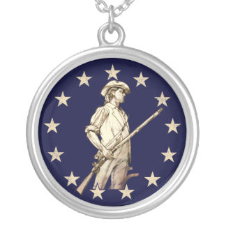 Concord Minuteman Personalized Necklace