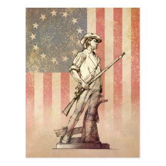 Concord Minuteman Postcard