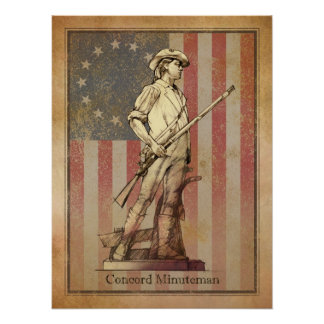 Concord Minuteman Posters