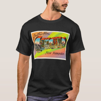 Concord New Hampshire NH Vintage Travel Souvenir T-Shirt