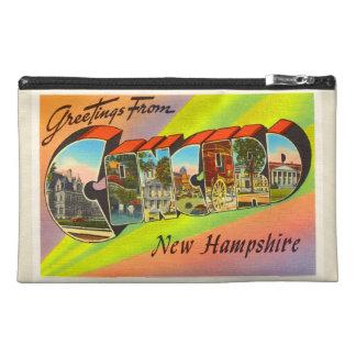 Concord New Hampshire NH Vintage Travel Souvenir Travel Accessory Bags