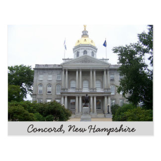 Concord, New Hampshire Post Card