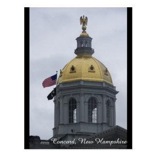 Concord, New Hampshire Post Card