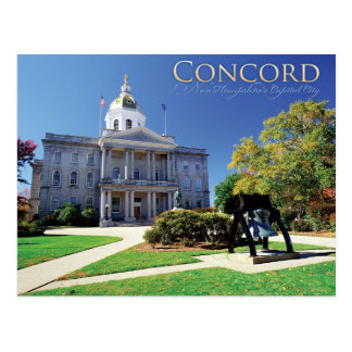 Concord New Hampshire Postcard