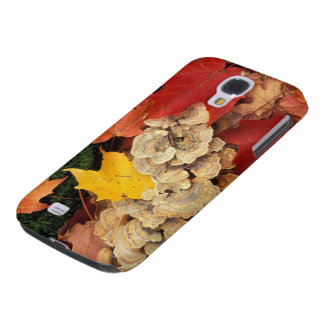 Concord, NH. Maple leaves and bracket fungus Samsung Galaxy S4 Case