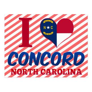 Concord, North Carolina Postcard