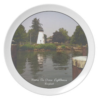 Concord Point Lighthouse, Havre De Grace, Maryland Melamine Plate