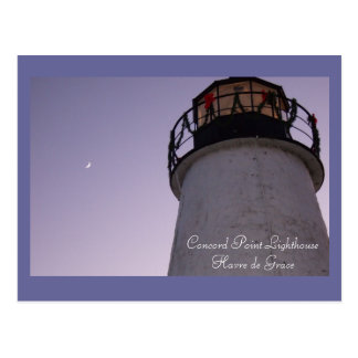 Concord Point Lighthouse, Havre de Grace Postcard