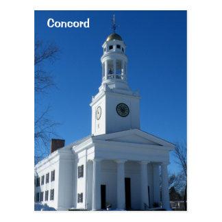 Concord Postcard