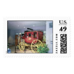 CoNcord Stagecoach 1854 Postage Stamp