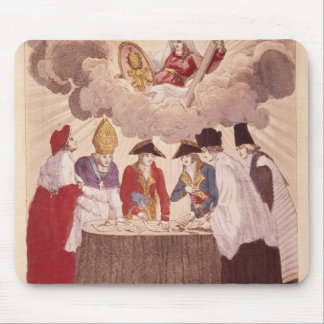 Concordat between Napoleon and Pope Pius VII Mouse Pad