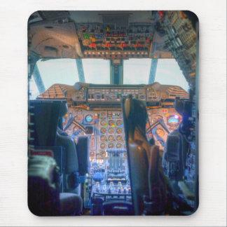 Concorde Cockpit Mouse Pad