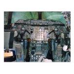 Concorde Cockpit Postcard