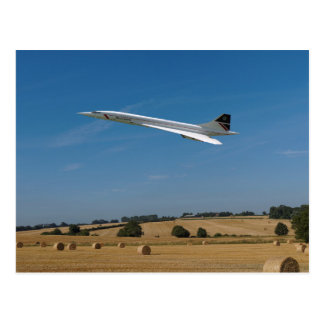 Concorde design postcard