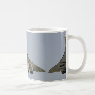 concorde classic white coffee mug