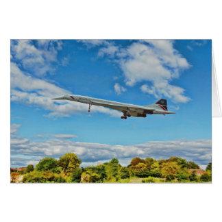 Concorde on Finals Card