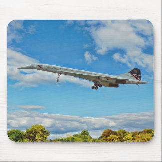 Concorde on Finals Mouse Pad