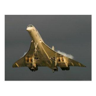 Concorde Postcard