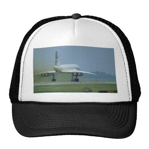 Concorde saca, dispositivo de poscombustión lleno gorro de camionero