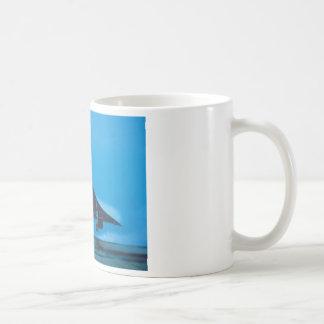 CONCORDE SST CLASSIC WHITE COFFEE MUG