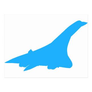 Concorde Supersonic Passenger Jetliner Postcard