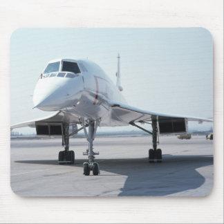 Concorde supersónico alfombrillas de raton