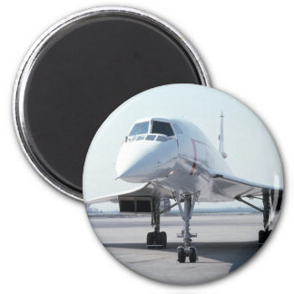 Concorde supersónico imán redondo 5 cm