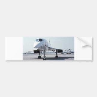 Concorde supersónico pegatina para auto