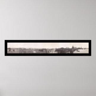 Concordia, foto 1910 de New Hampshire Póster