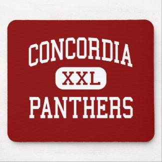 Concordia - panteras - alto - Concordia Kansas Tapete De Raton