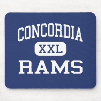 Concordia pega Concordia medio Kansas Tapete De Ratón