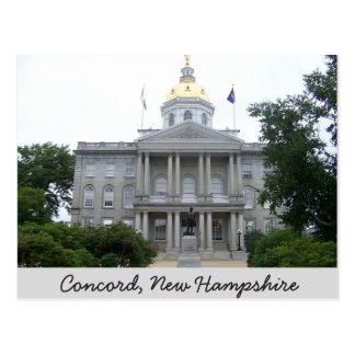 Concordia, postal de New Hampshire