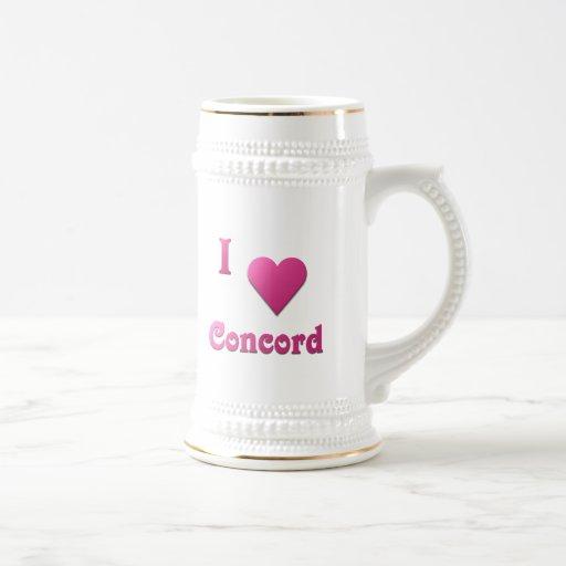 Concordia -- Rosas fuertes Taza De Café