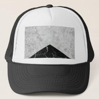 Concrete Arrow Black Granite #844 Trucker Hat