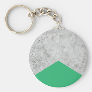 Concrete Arrow Green #175 Keychain