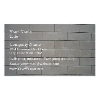 Concrete Blocks Texture Business Cards