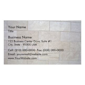 Concrete Brick Wall Background Double-Sided Standard Business Cards (Pack Of 100)