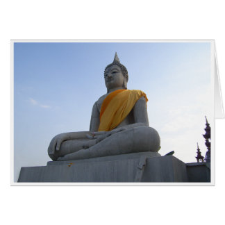 Concrete Buddha Card