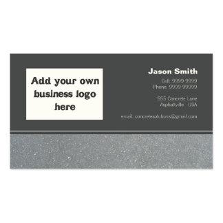 Concrete Constructions Commission Design Template Business Card Template