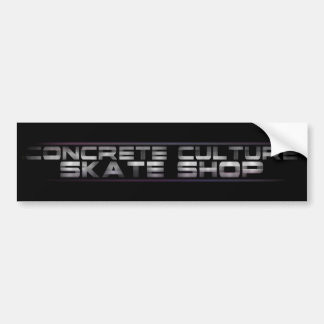 Concrete Culture Skate Shop Sticker