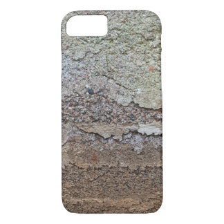 Concrete foundation of an old house iPhone 8/7 case