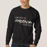 Concrete Genius Pull Over Sweatshirts