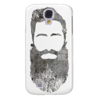concrete hipster with beard samsung galaxy s4 cover