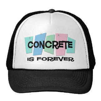 Concrete Is Forever Mesh Hats