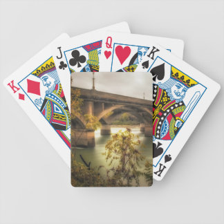 Concrete Jungle Bicycle Playing Cards