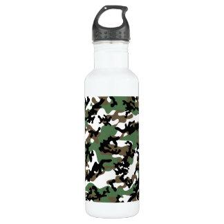 Concrete Jungle Camo Aluminum Stainless Steel Water Bottle