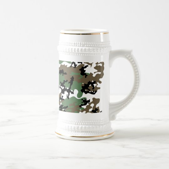 Concrete Jungle Camo Beer Stein