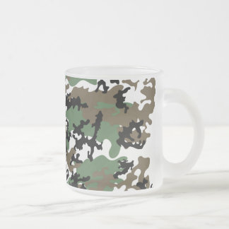 Concrete Jungle Camo Frosted Coffee Mug