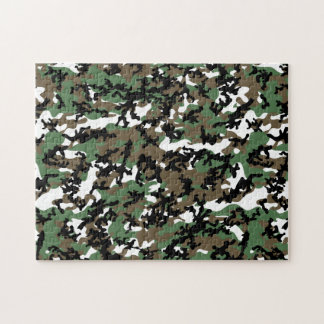 Concrete Jungle Camo Puzzle